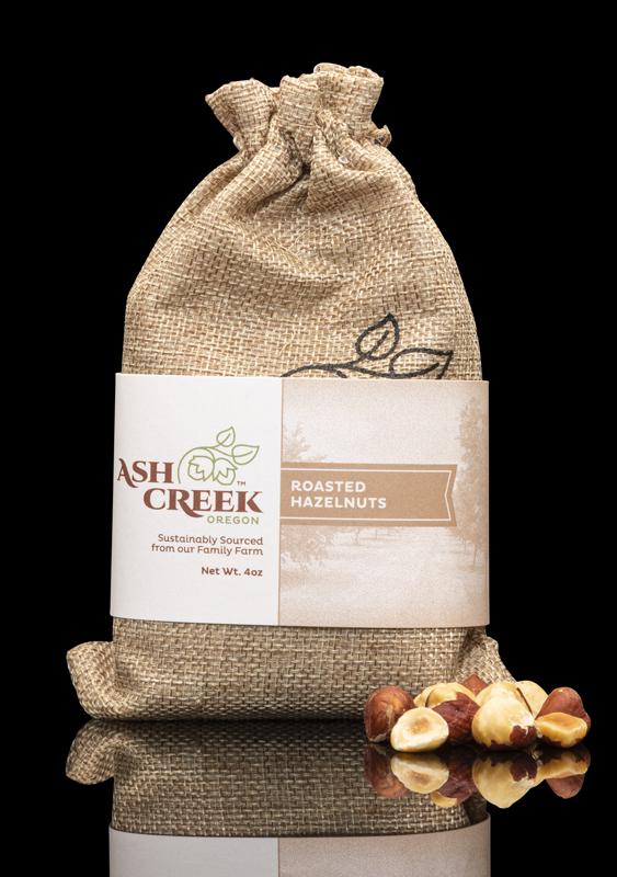 Ash Creek Oregon Roasted Hazelnuts
