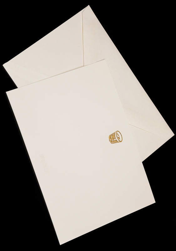 Terrapin Stationers Engraved Stationery