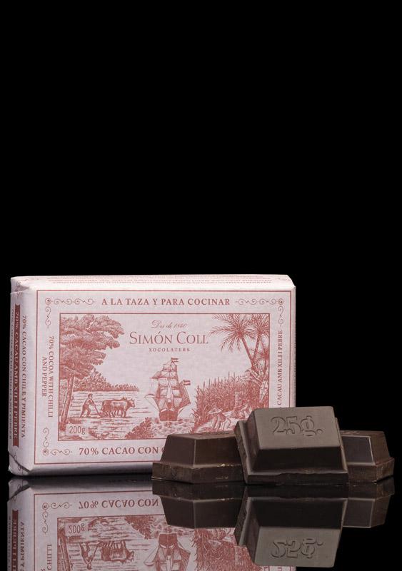 Simón Coll Chilli & Pepper Chocolate